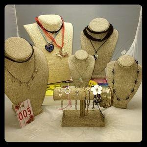 Tween Lot Chokers Bracelets Necklaces 005